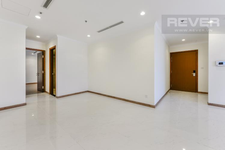 Phòng khách Căn góc Vinhomes Central Park 4 phòng ngủ tầng cao L1 view sông