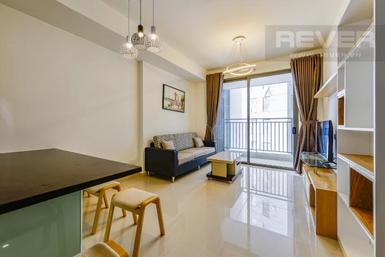 Phòng khách Bán căn hộ The Tresor tầng thấp, tháp TS1, 2 phòng ngủ, full nội thất