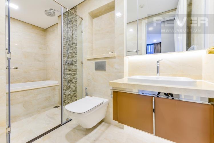 Phòng tắm 1 Căn hộ Vinhomes Golden River tầng cao, view đẹp, 2PN nội thất đầy đủ