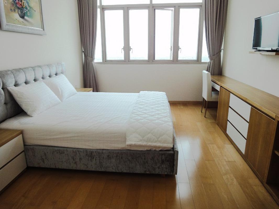 Phòng ngủ Master Bán căn hộ The Vista An Phú 2PN, tháp T4, diện tích 101m2, đầy đủ nội thất, view sông Sài Gòn và bán đảo Thanh Đa