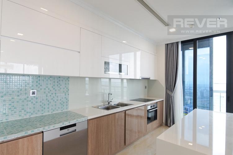 Nhà Bếp Cho thuê căn hộ Vinhomes Golden River 4PN, tầng cao, đầy đủ nội thất, view trực diện sông Sài Gòn