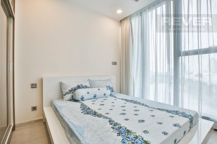 Phòng Ngủ Officetel Vinhomes Golden River 1 phòng ngủ tầng thấp Aqua4 view sông