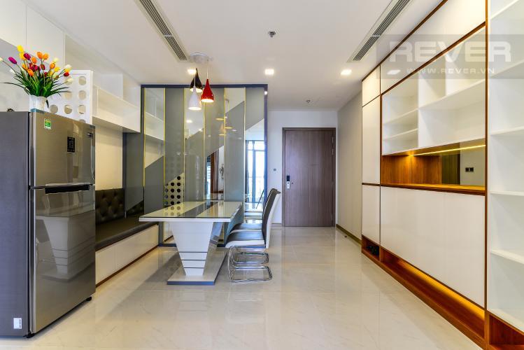 Phòng Ăn Căn hộ Vinhomes Central Park 2 phòng ngủ tầng trung P7 hướng Đông Nam