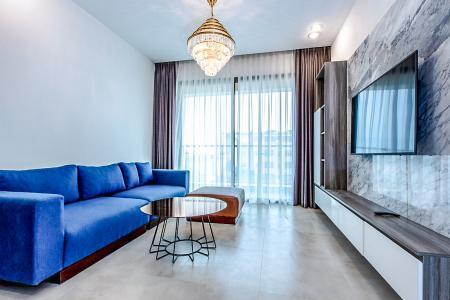 Bán căn hộ The Gold View 2PN, tầng trung, tháp A, đầy đủ nội thất