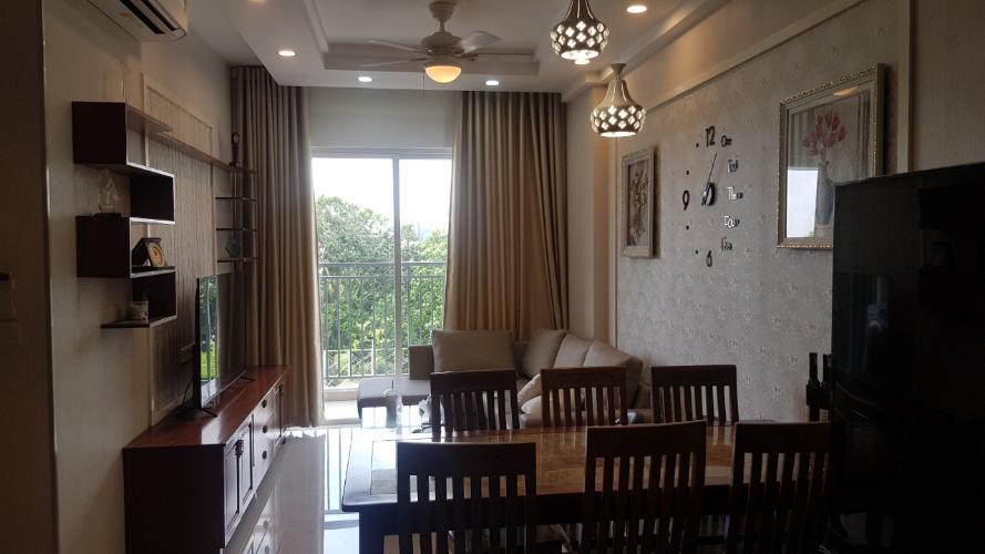 view phòng khách căn hộ Sunrise Riverside Bán căn hộ tầng thấp Sunrise Riverside đầy đủ nội thất.