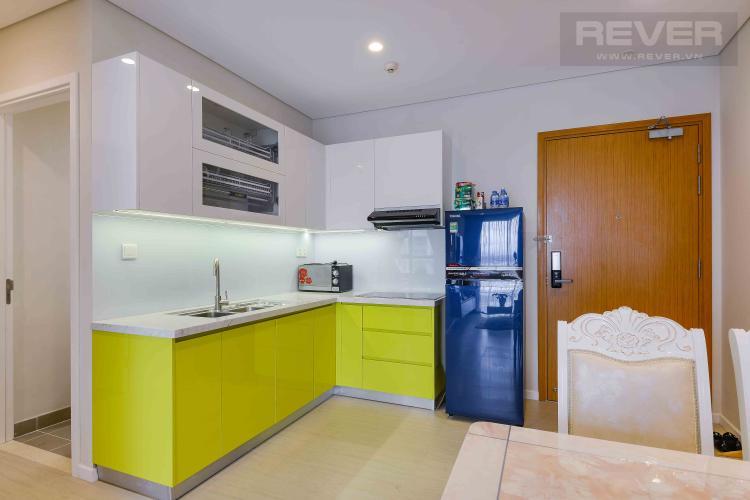 Bếp Cho thuê căn hộ Diamond Island - Đảo Kim Cương 1PN, tầng thấp, tháp Canary, đầy đủ nội thất