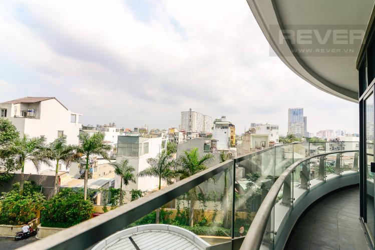 View Bán hoặc cho thuê căn hộ City Garden 100m2 2PN 2WC, view nội khu, nội thất cao cấp