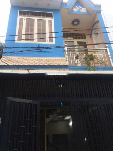 Mặt tiền nhà phố Quận 12 Nhà phố hướng Đông Bắc khu dân cư an ninh, hẻm 4m.