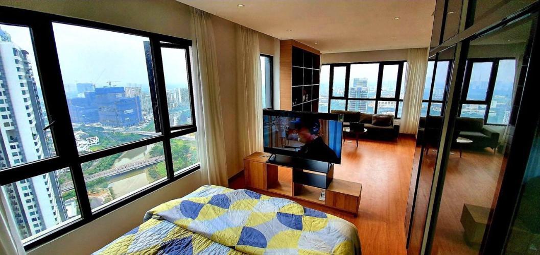 Phòng ngủ  căn hộ Riviera Point Căn hộ Riviera Point tầng 35, view thành phố thông thoáng.