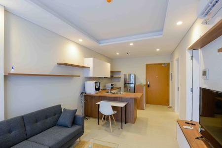 Cho thuê căn hộ Diamond Island - Đảo Kim Cương 1PN, đầy đủ nội thất, view sông thoáng đãng