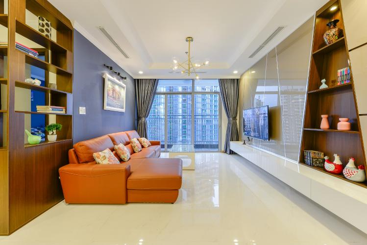 Căn góc Vinhomes Central Park tầng cao Landmark 1, thiết kế hiện đại, 3 phòng ngủ