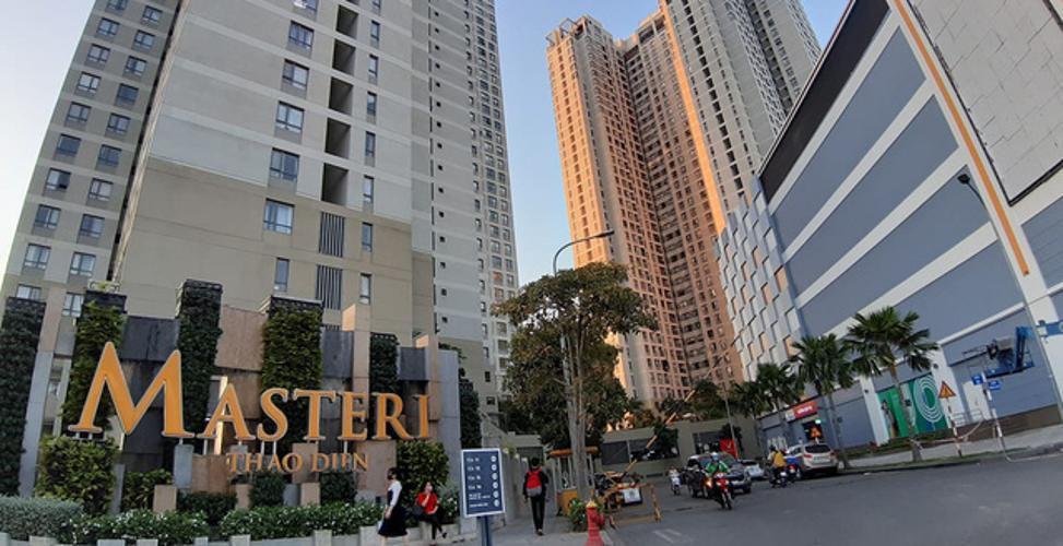 Masteri Thảo Điền Căn hộ Masteri Thảo Điền 1 phòng ngủ, view sông thoáng mát.