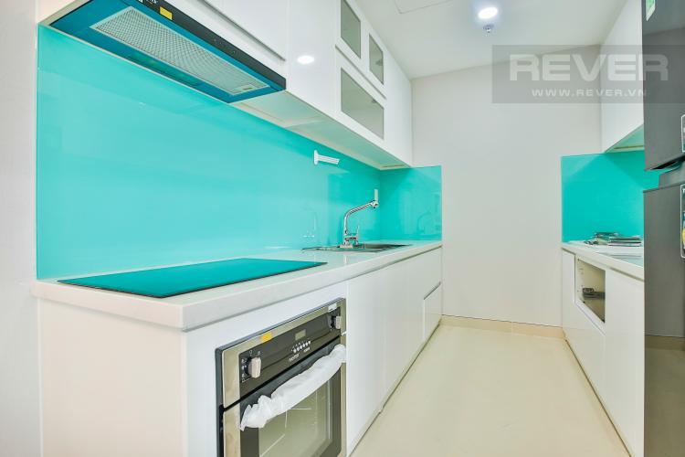 Bếp Căn hộ Masteri Thảo Điền tầng cao T5 mới giao nhà, nội thất đầy đủ