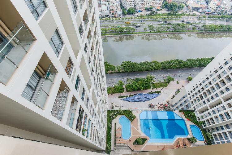 View Căn hộ The Gold View 2 phòng ngủ tầng cao A2 view sông