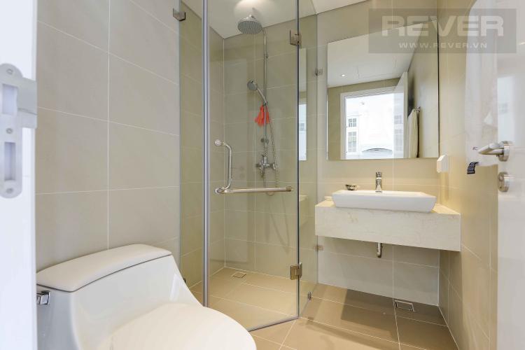 Toilet Cho thuê căn hộ Diamond Island - Đảo Kim Cương 1PN, tháp Canary, đầy đủ nội thất, view sông yên tĩnh