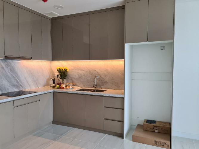 Bếp căn hộ 1PN KingDom 101 Cho thuê căn hộ Kingdom 101,  tầng cao, diện tích 49.58m2, 1PN, ban công hướng Đông Nam