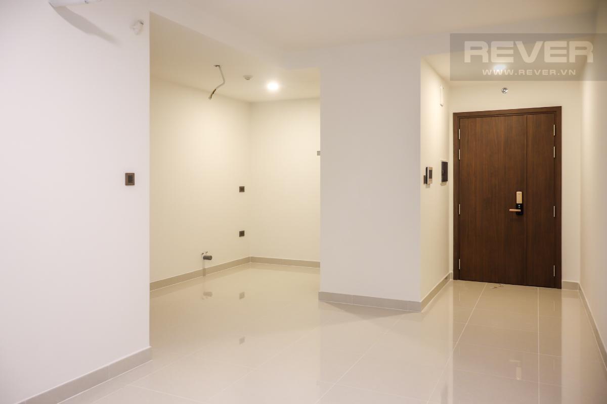 Phòng Khách Cho thuê căn hộ Saigon Royal 2PN, tháp A, không có nội thất, view hồ bơi nội khu