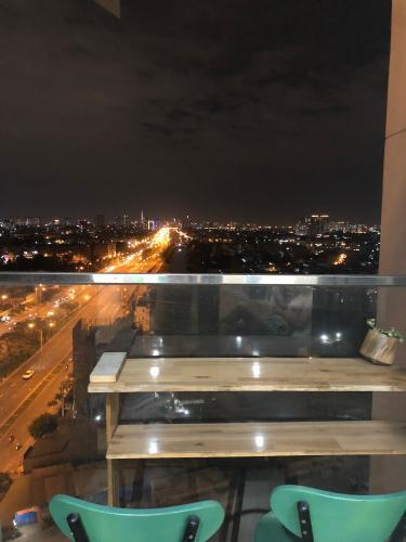 View căn hộ City Gate, Quận 8 Căn hộ City Gate view thành phố tuyệt đẹp, nội thất đầy đủ tiện nghi.