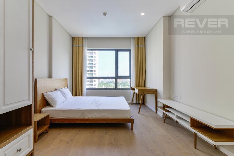 Phòng Ngủ 1 Bán căn hộ Đảo Kim Cương 2 phòng ngủ tầng trung tháp Bora Bora, đầy đủ nội thất, view sông và nội khu