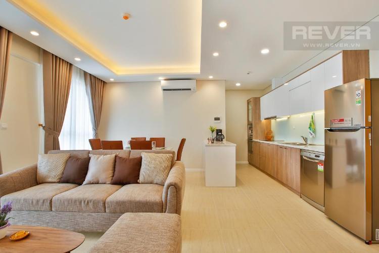 Căn hộ Đảo Kim Cương tầng trung, thiết kế hiện đại.