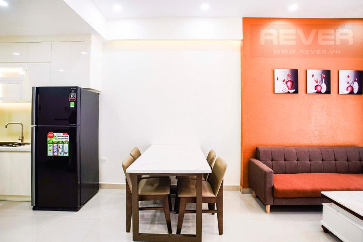 Phòng Ăn Cho thuê căn hộ Sunrise Riverside 2PN, hướng Nam, đầy đủ nội thất, view hồ bơi
