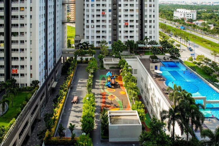 View Bán căn hộ 3PN Lexington Residence, tháp LA, diện tích 111m2, view hồ bơi và đại lộ Mai Chí Thọ