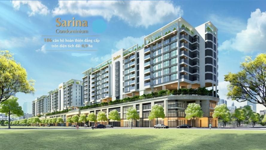 Sarina Condominium, Quận 2 Căn hộ Sarina Condominium tầng trung, view cây xanh mát mẻ.