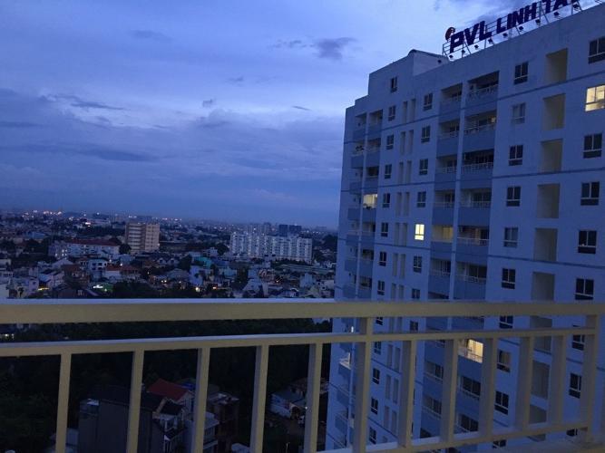 View Linh Tây Tower, Thủ Đức Căn hộ Linh Tây Tower tầng trung, view thành phố tuyệt đẹp.