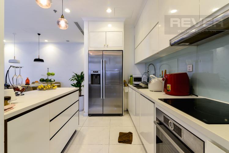 Nhà Bếp Bán căn hộ Vinhomes Central Park tầng trung 3 phòng ngủ, diện tích lớn