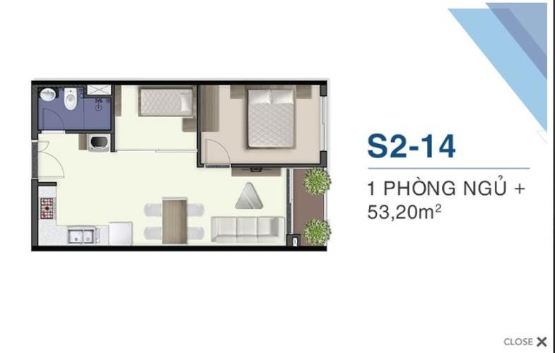 Căn hộ tầng 22 Q7 Saigon Riverside nội thất cơ bản