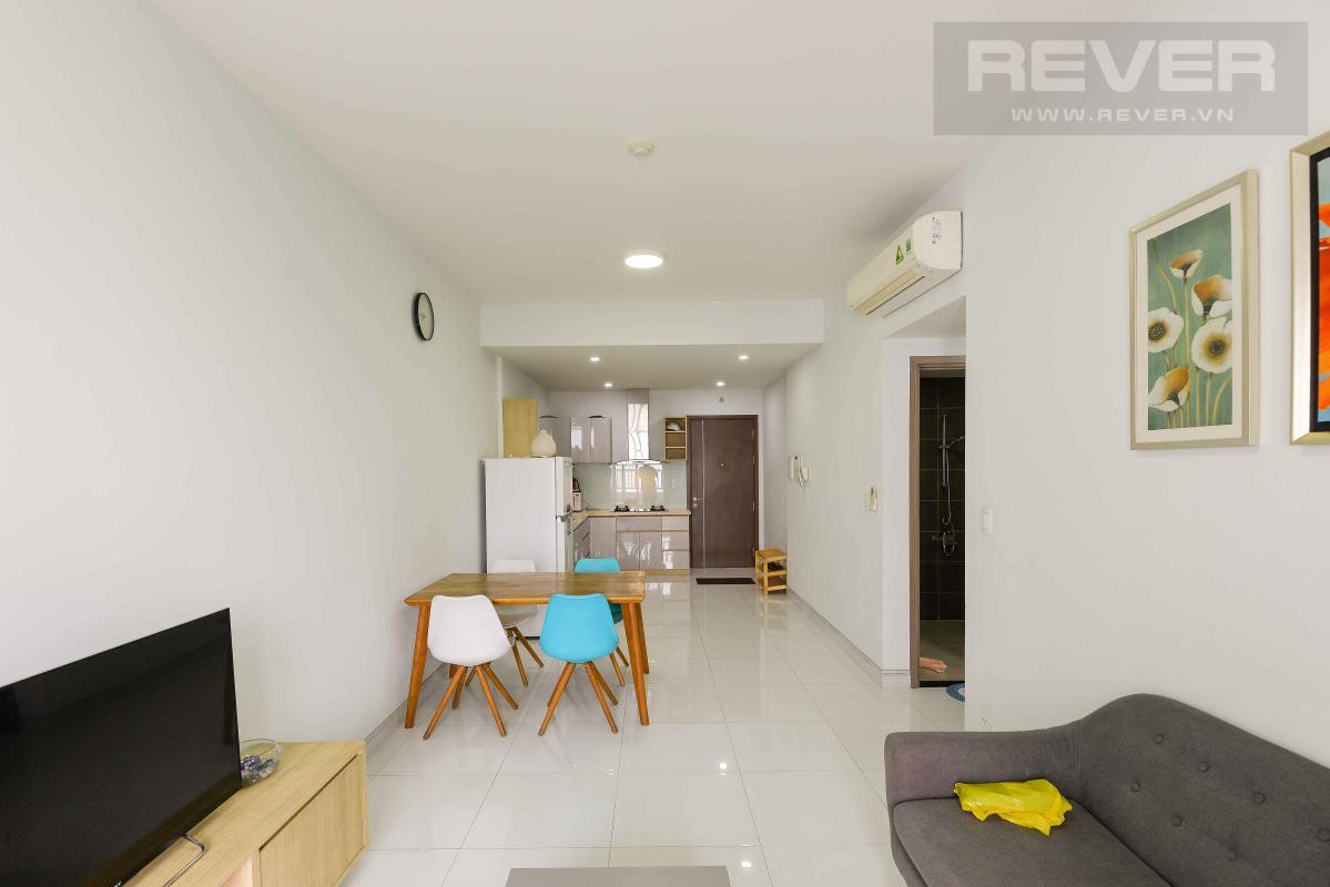 Phòng khách 2 Cho thuê căn hộ Lexington Residence 2PN, tầng thấp, đầy đủ nội thất, view đại lộ Mai Chí Thọ
