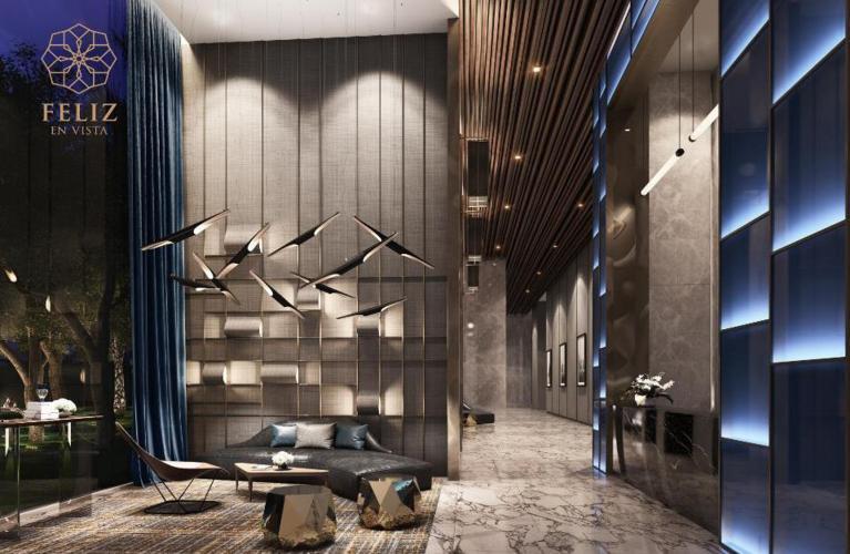 phối cảnh căn hộ Căn hộ Feliz en Vista Căn hộ Feliz en Vista tầng 12B nội thất cơ bản