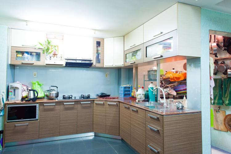 Phòng bếp Nhà phố Nguyễn Văn Dung 4 tầng kiên cố