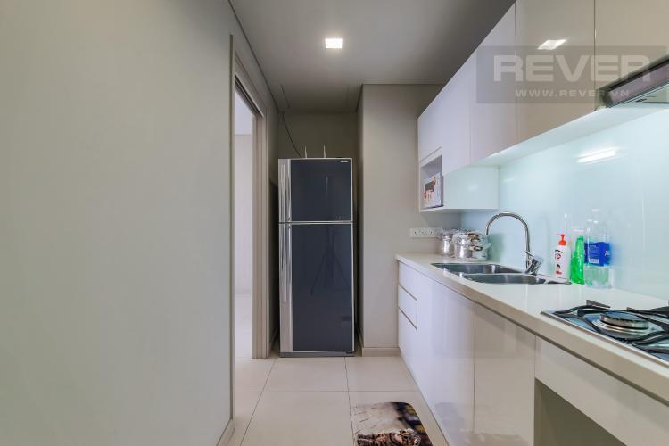 Phòng Bếp Cho thuê căn hộ City Garden tầng trung 1 phòng ngủ, đầy đủ nội thất, view hồ bơi mát mẻ