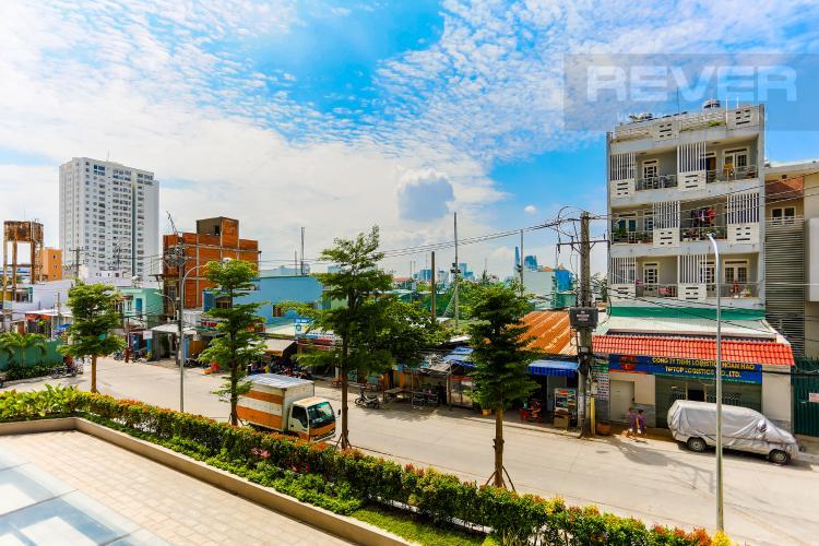 View Shophouse M-One Nam Sài Gòn nằm ở tháp T1 hướng Bắc