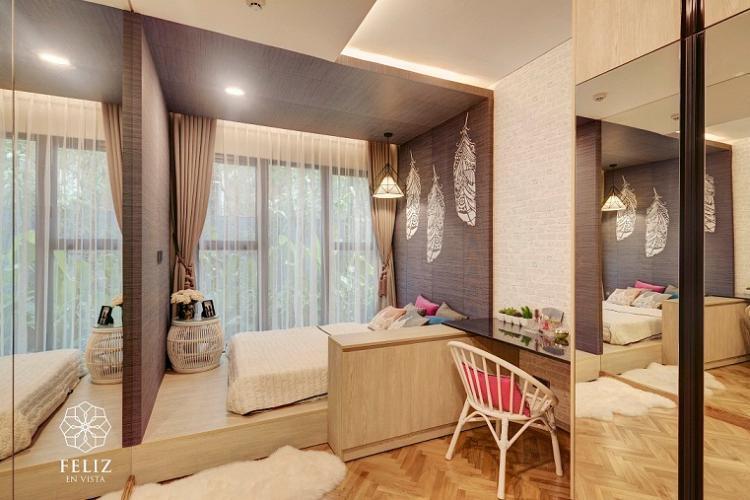 Căn hộ Feliz En Vista Căn hộ Feliz En Vista đầy đủ nội thất, ban công hướng Đông Nam.