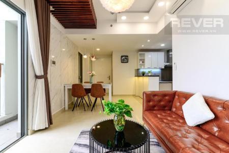 Cho thuê căn hộ Masteri Thảo Điền 2PN, tầng cao, tháp T2, đầy đủ nội thất, view sông Sài Gòn