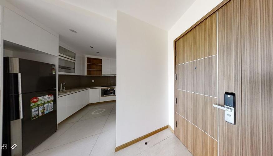 Bếp căn hộ NEW CITY THỦ THIÊM Cho thuê căn hộ New City Thủ Thiêm 2PN, tầng thấp, đầy đủ nội thất, ban công Tây Bắc