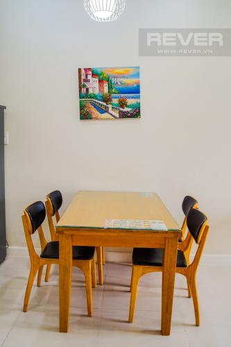 Phòng Ăn Cho thuê căn hộ Lexington Residence 2PN, tháp LA, đầy đủ nội thất, view đại lộ Mai Chí Thọ