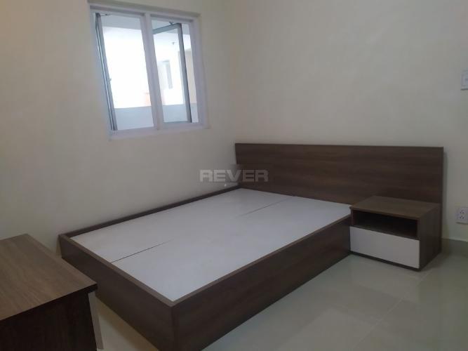 Phòng ngủ căn hộ Ngọc Phương Nam, Quận 8 Căn hộ Ngọc Phương Nam tầng 8, view thành phố sầm uất.