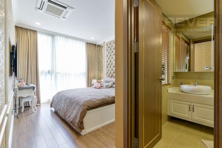 Phòng Ngủ 1 Căn hộ Vinhomes Central Park tầng cao, tháp Park 7, 2PN, nội thất đầy đủ