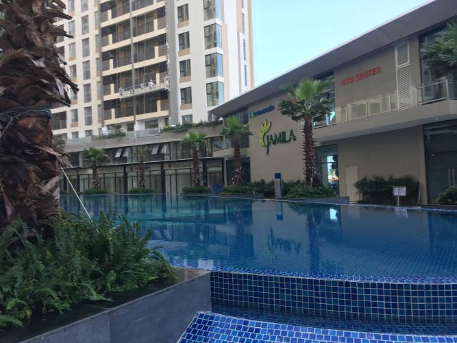 Hồ bơi Jamila Khang Điền, Quận 9 Căn hộ Jamila Khang Điền tầng thấp, ban công hướng Tây Nam.