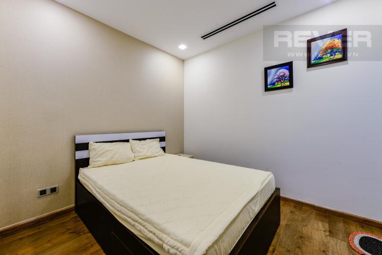 Phòng ngủ 1 Bán căn hộ Vinhomes Central Park 2PN tầng trung, view sông, đầy đủ nội thất