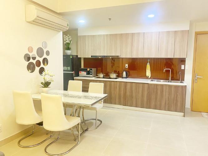 Phòng ăn và bếp căn hộ MASTERI THẢO ĐIỀN Cho thuê căn hộ Masteri Thảo Điền 2PN, tháp T3, đầy đủ nội thất, view Xa lộ Hà Nội
