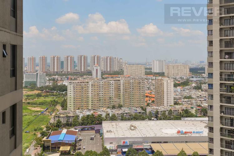 View Cho thuê căn hộ Masteri Thảo Điền 1PN, tầng cao, tháp T4, đầy đủ nội thất