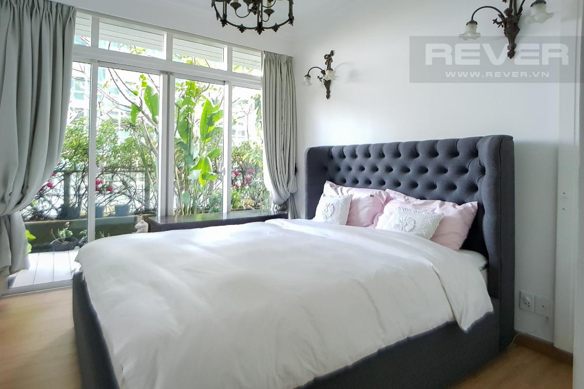 Phòng ngủ 2 Bán hoặc cho thuê căn hộ sân vườn The Vista An Phú 3PN, tháp T3, diện tích 220m2, đầy đủ nội thất