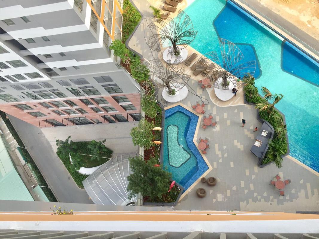 c41ee5a8d30634586d17 Bán căn hộ The Sun Avenue 3PN, block 7, diện tích 86m2, đầy đủ nội thất, view hồ bơi
