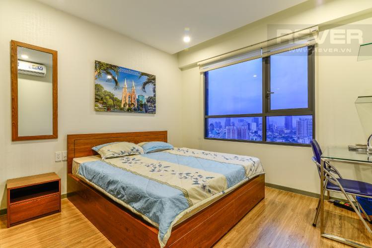 Phòng Ngủ 1 Cho thuê căn hộ The Gold View tầng cao, view đẹp, 2PN đầy đủ nội thất
