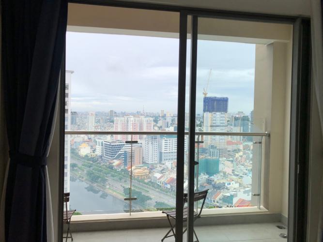 View hướng cửa sổ Masteri Millennium Quận 4 Căn hộ tầng cao Masteri Millennium nội thất hiện đại, view Q1.