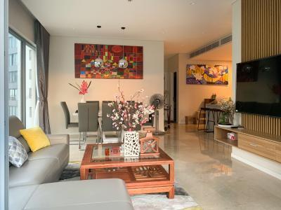 Cho thuê căn hộ Diamond Island - Đảo Kim Cương, tháp Maldives, đầy đủ nội thất, view sông và Landmark 81